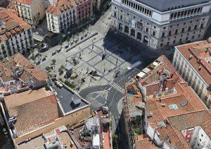 Teatro Real Eje Turístico Peatonal Museo del Prado-Palacio Oriente 1