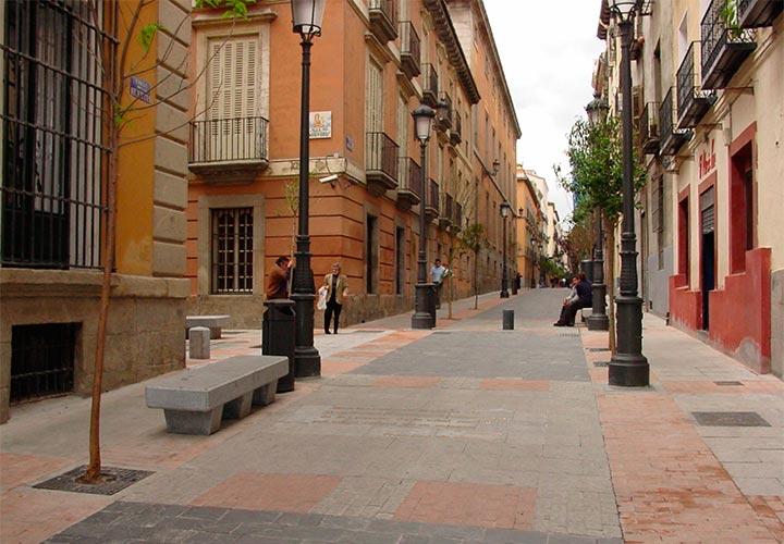 Urbanizacion E Infraestructura De La Calle Huertas Las Letras