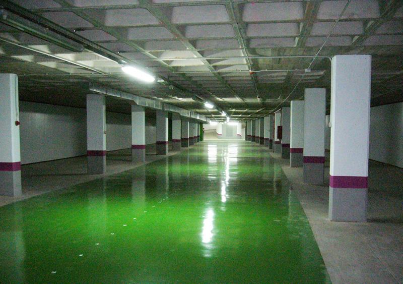 Fin de obra Parking Subterráneo El Juncal Torrejón De Ardoz