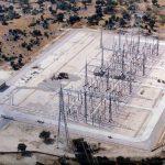 Construcción de la subestación eléctrica de Galapagar