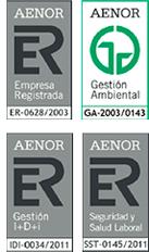 Certificado calidad AENOR